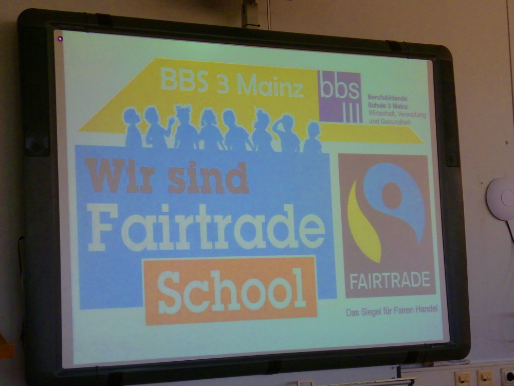 BBS 3 wird Fairtrade School