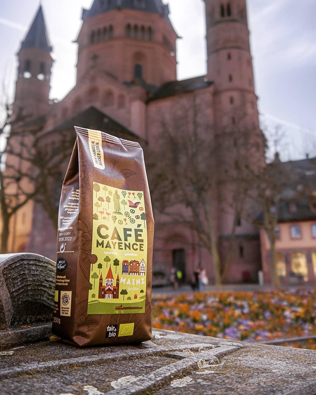 "Mainzer Agenda-Kaffee ""Café Mayence"" Foto: Weltladen Unterwegs"